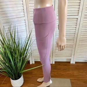 Yoga Leggings w/ pockets lavender NWOT size Small